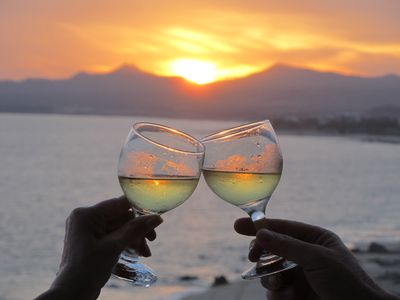 Celebrate the Cabo sunset