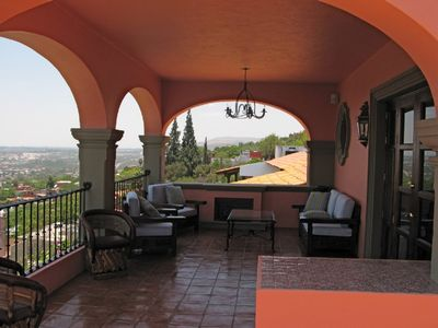 San Miguel de Allende house rental - Enjoy sunset views of the city on our mirador terrace