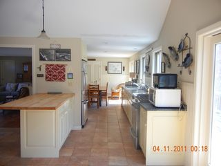 Kitchen looking into dining area - East Orleans house vacation rental photo