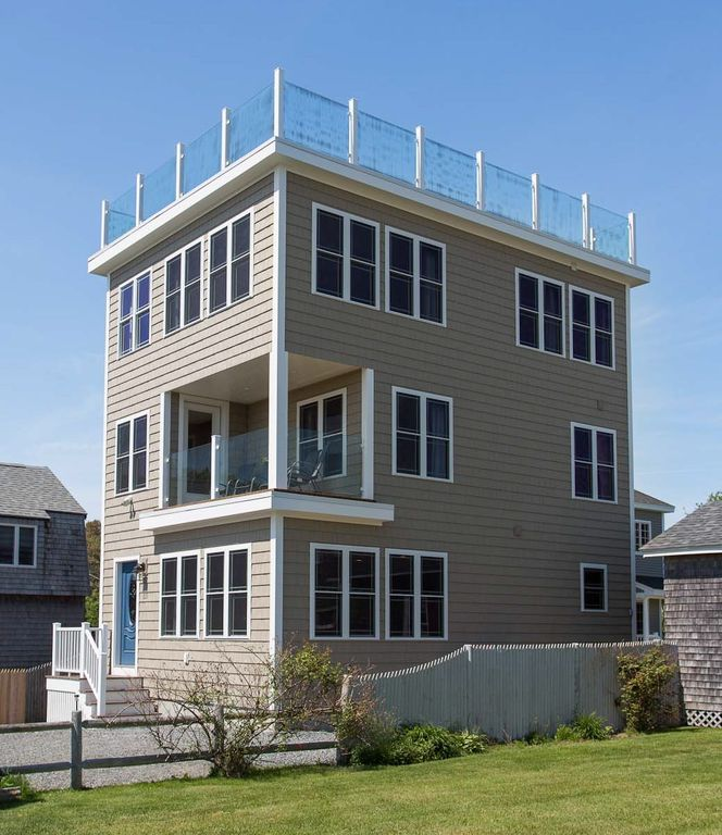 Beach House Decks: New Home With Incredible Ocean View Roof Deck!