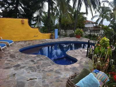 Charming Mexican architecture and details, pool, ocean view, pet-friendly