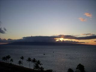 Lahaina condo photo - View the Sunset from our Lanai
