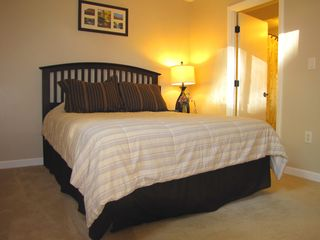 Laconia condo photo - Master Queen bedroom with full private bath