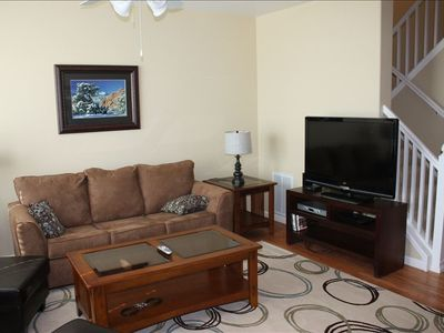 Living Room - Wireless Wi-Fi, 46 inch HD TV, sleeper sofa