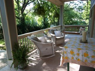 Nashville cottage photo - Serene porch to relax and enjoy your morning coffee!