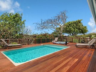 Poipu house photo - 5BR/4.5 BA, 5700 sq ft home with Heated pool and Spa