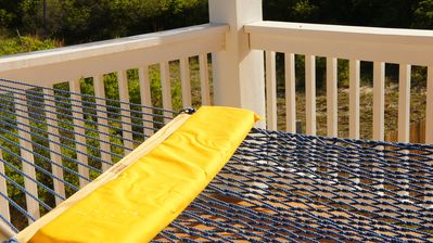 Large Hammock overlooking Pool on 2nd deck