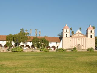 Santa Barbara house photo - A short walk to the beautiful Mission.
