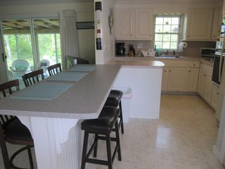 Hyannis - Hyannisport house photo - fully stocked kitchen with pots, pans, and appliances