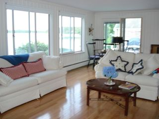 Yarmouth house photo - Family Room with Amazing Views