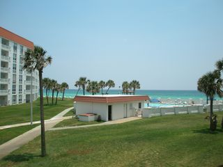 Okaloosa Island condo photo - View From the Balcony