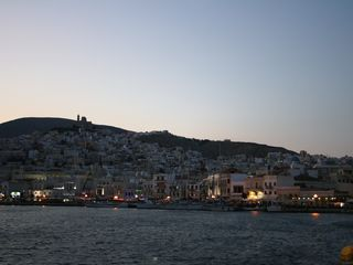 Syros apartment photo - Sightseeing: A view of the Paralia in Hermoupolis