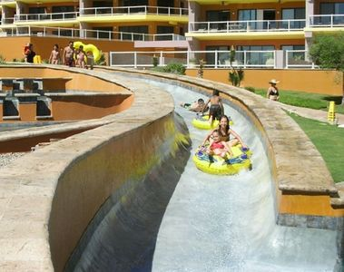Water slide for the kids