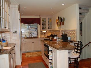 Lincoln townhome photo - Kitchen appliances include Sub Zero, Thermador, Bocsh, etc.