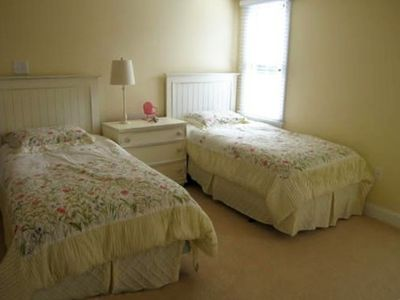 1st Floor Bedroom with 2 twin beds shares hall bath