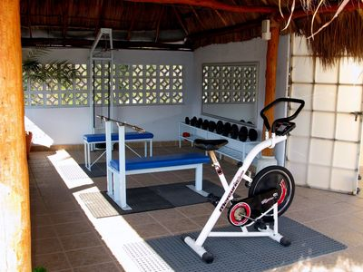 Gym Area on the Roof