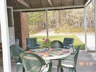 Wellfleet house photo - Outdoor Patio with BBQ grill