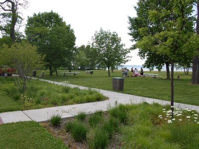 Veterans Memorial Park picnic area.
