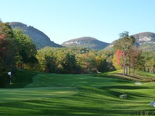 Lake Toxaway cottage photo - Golf and Mountains