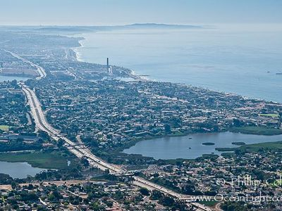 Carlsbad Village by the Sea from Above...