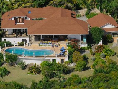 Guana Bay villa rental - Arial view