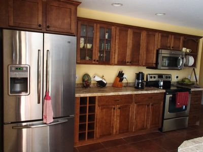 view of kitchen open to great room