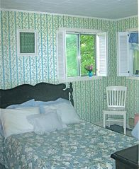 Copake house photo - Blue room with full size bed