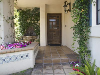 Manhattan Beach house rental - entrance