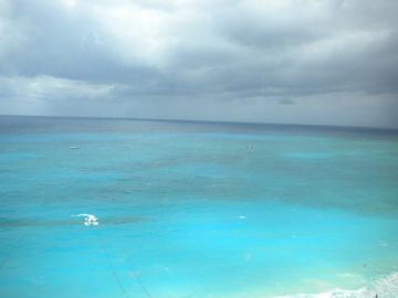 Stunning ocean view from your balcony. Look for turtles & dolphins! Amazing!