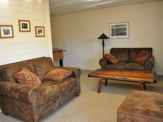 Blowing Rock cabin photo - Rec Room seating + TV