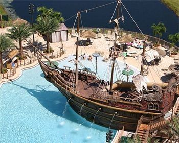 Lake Buena Vista condo rental - Unique Pirate Pool with Zero Entry, 3 Hot Tubs, Water Slide, and much more!