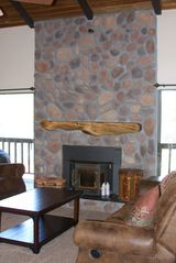 Pinetop condo photo - Wood Pellet Fireplace