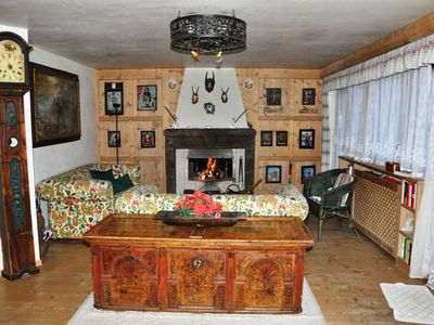 Corvara In Badia: particular Apartment furnished with ancient  Tyrolian items in Corvara