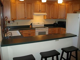 Massanutten house photo - Kitchen w/ breakfast bar.