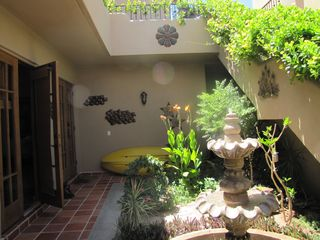 Loreto house photo - Private courtyard with fountain