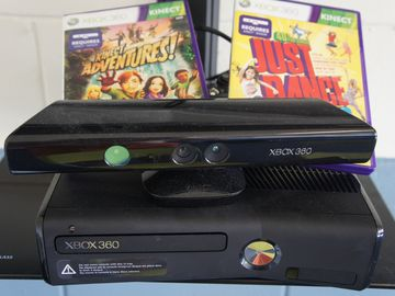 XBOX 360 with Kinnect system and great family games