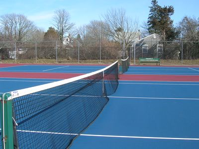 Chatham house rental - Nearby tennis courts