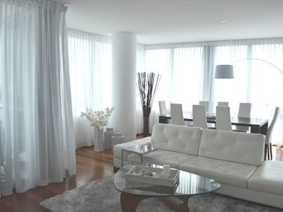 Miami Beach condo rental - Living Room