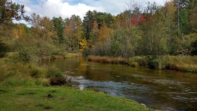 Beautiful AuSable River Home