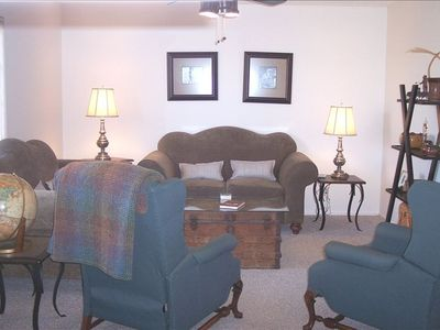 One of 2 Living Areas