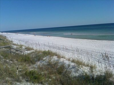 Santa Rosa Beach.  One of  Yahoo Travel's Top 10 Beaches.