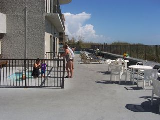 Crescent Beach condo photo - Jacuzzi, Pool, Sauna and Patio
