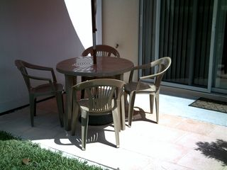 Compass Bay townhome photo - Patio Table