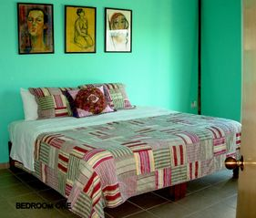 Playa Paraiso villa photo - Cheerful Mexican decor in all 5 bedrooms