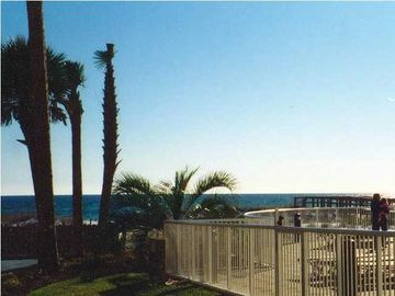 Okaloosa Island condo rental - View from patio area
