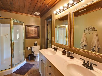 Bathroom. Home has 3 baths.