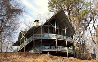 Gatlinburg chalet photo - Pet Friendly, 5 bedroom, 3 bath chalet sleeps 14, wifi, 2 wood burning fireplace