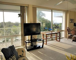 Sanibel Island condo photo - Updated electronics include new HDTV with HBO