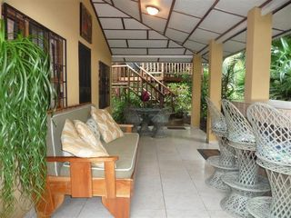 Jaco house photo - Great front porch for relaxing and having your morning coffee.