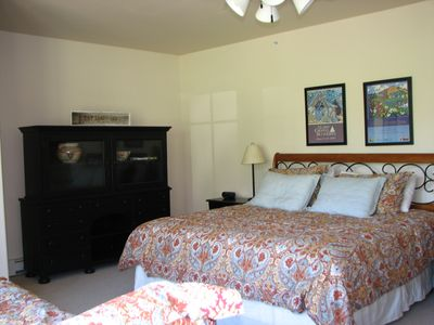 Crested Butte condo rental - family master suite - sleeps 4